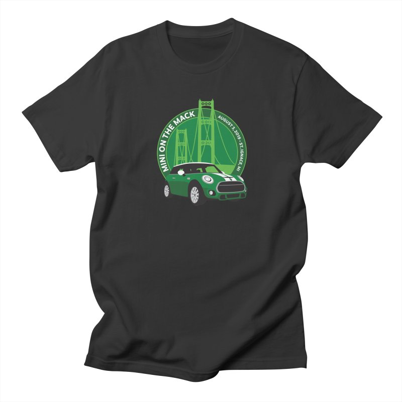 MINI on the Mack 2019 Men's Regular T-Shirt by TwistyMini Motoring Shirts
