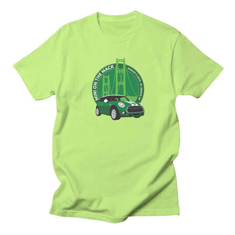 MINI on the Mack 2019 Women's Regular Unisex T-Shirt by TwistyMini Motoring Shirts