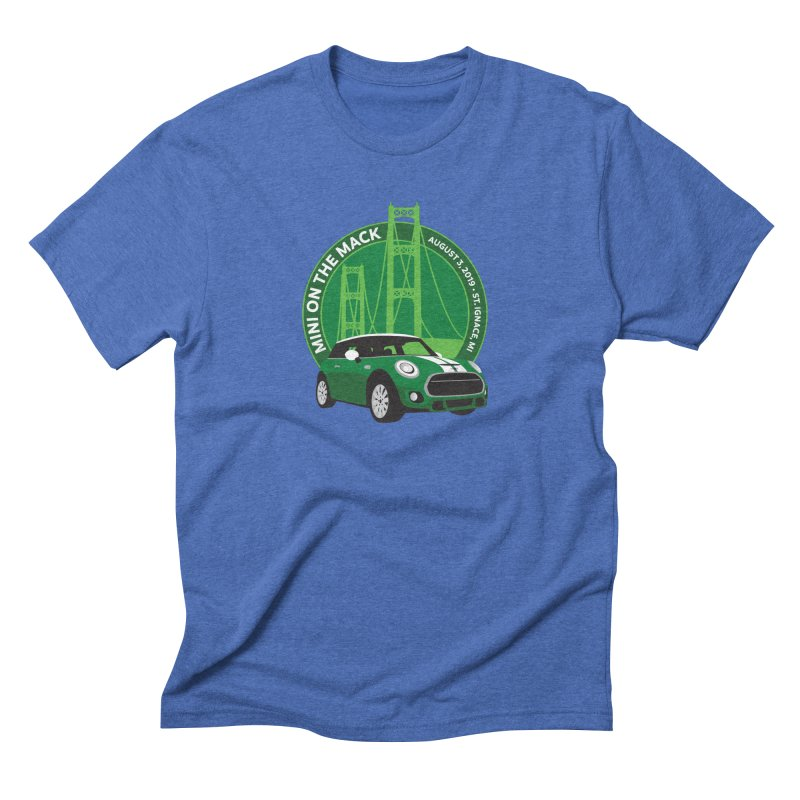 MINI on the Mack 2019 Men's Triblend T-Shirt by TwistyMini Motoring Shirts