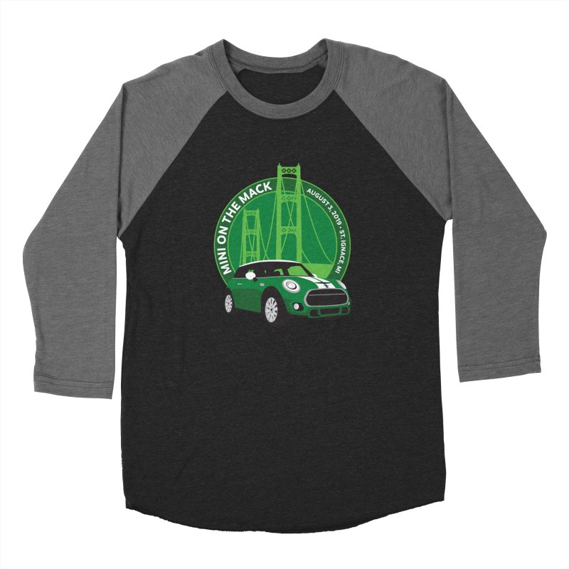 MINI on the Mack 2019 Women's Baseball Triblend Longsleeve T-Shirt by TwistyMini Motoring Shirts