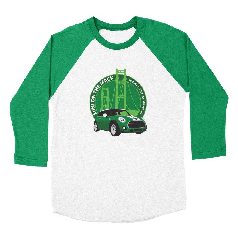 MINI on the Mack 2019 Men's Baseball Triblend Longsleeve T-Shirt by TwistyMini Motoring Shirts