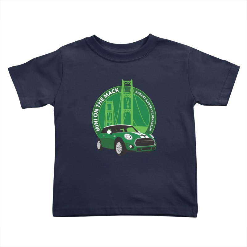 MINI on the Mack 2019 Kids Toddler T-Shirt by TwistyMini Motoring Shirts