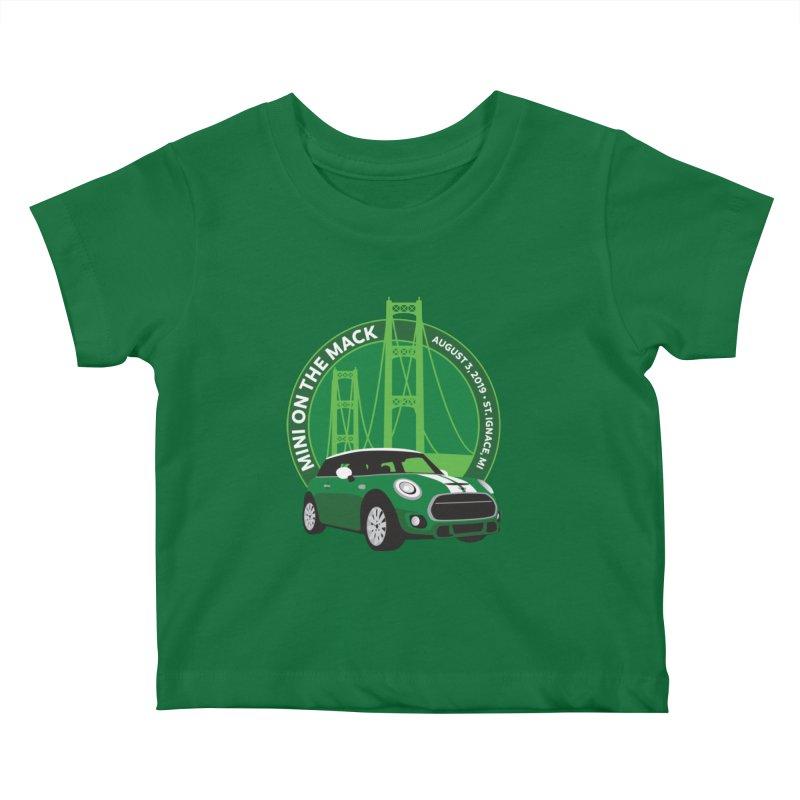 MINI on the Mack 2019 Kids Baby T-Shirt by TwistyMini Motoring Shirts