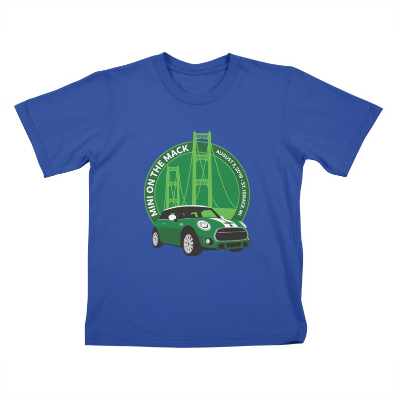 MINI on the Mack 2019 Kids T-Shirt by TwistyMini Motoring Shirts