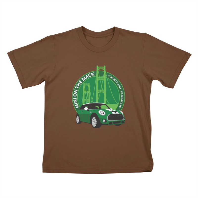 MINI on the Mack 2019 Kids T-Shirt by TwistyMini Motoring Shirts