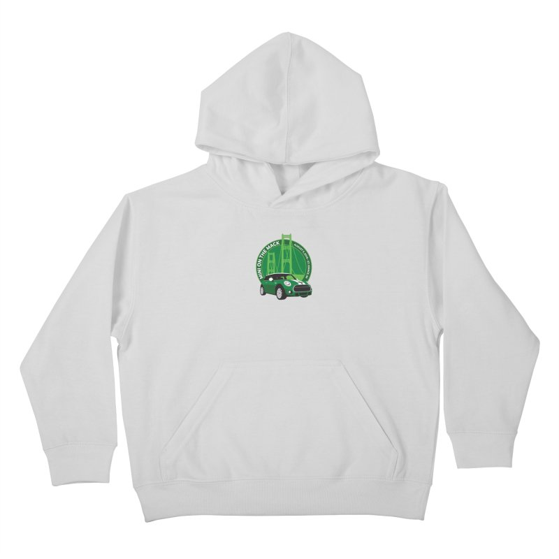 MINI on the Mack 2019 Kids Pullover Hoody by TwistyMini Motoring Shirts