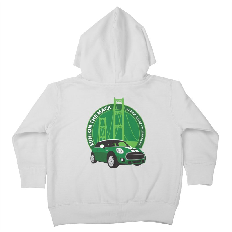 MINI on the Mack 2019 Kids Toddler Zip-Up Hoody by TwistyMini Motoring Shirts
