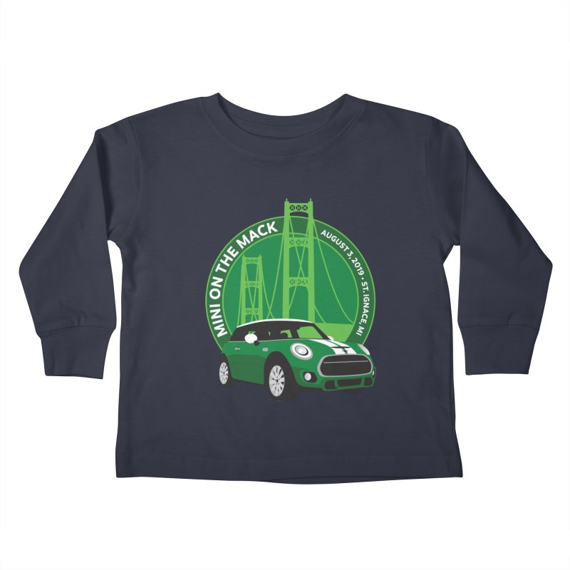 MINI on the Mack 2019 Kids Toddler Longsleeve T-Shirt by TwistyMini Motoring Shirts