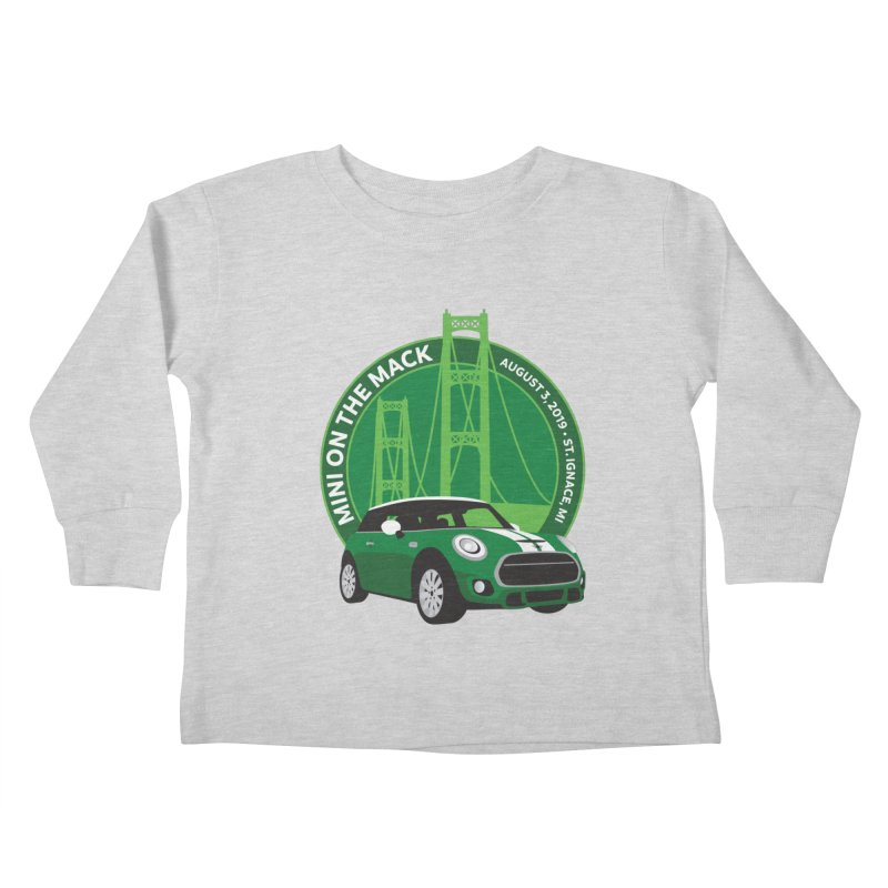 MINI on the Mack 2019 Kids Toddler Longsleeve T-Shirt by TwistyMini Motoring Shirts