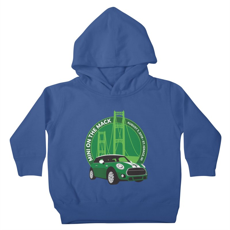 MINI on the Mack 2019 Kids Toddler Pullover Hoody by TwistyMini Motoring Shirts