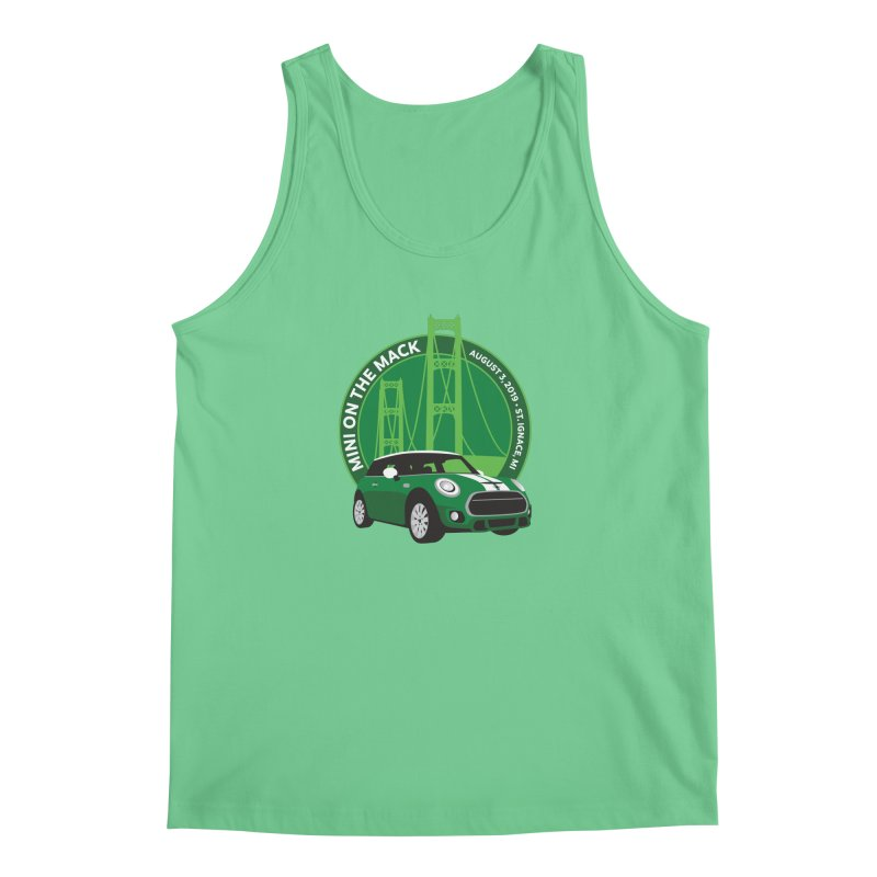 MINI on the Mack 2019 Men's Regular Tank by TwistyMini Motoring Shirts