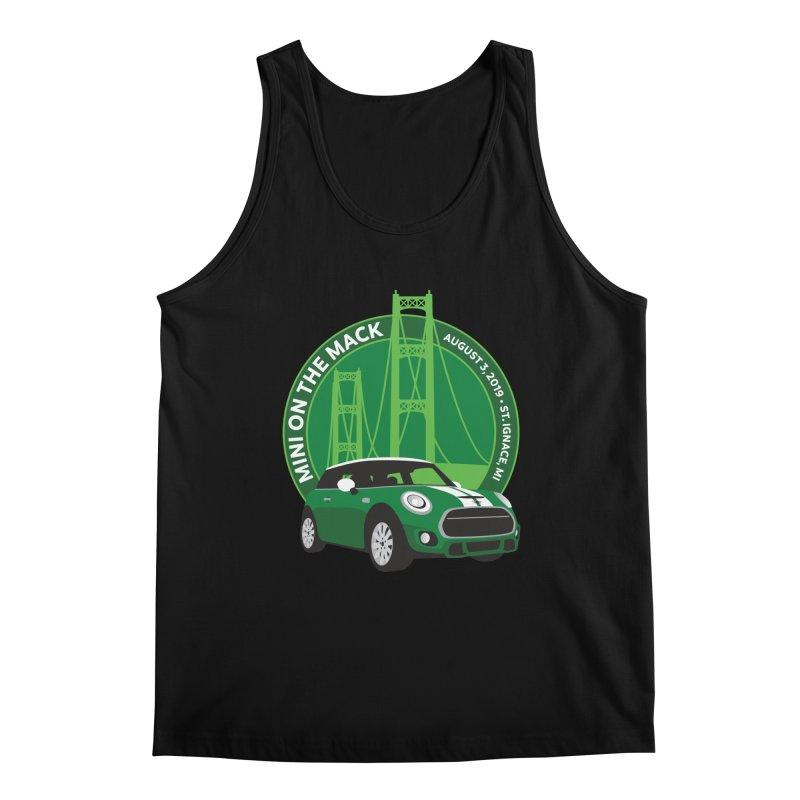 MINI on the Mack 2019 Men's Regular Tank by TwistyMini Motoring Shirts