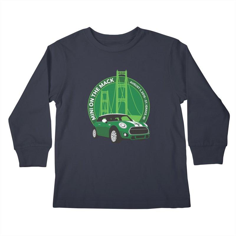 MINI on the Mack 2019 Kids Longsleeve T-Shirt by TwistyMini Motoring Shirts