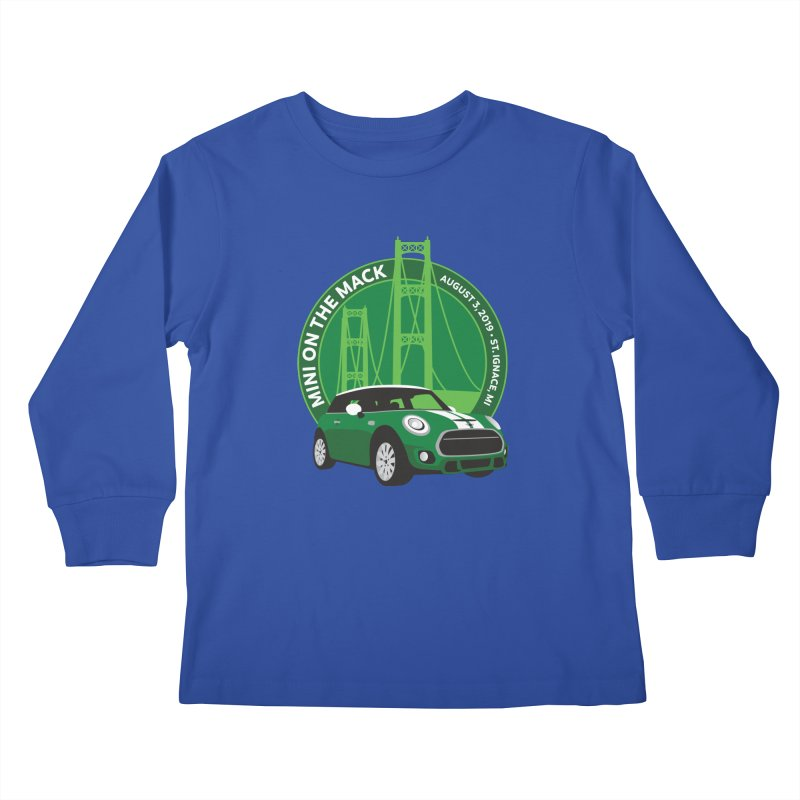 MINI on the Mack 2019 Kids Longsleeve T-Shirt by TwistyMini Motoring Shirts