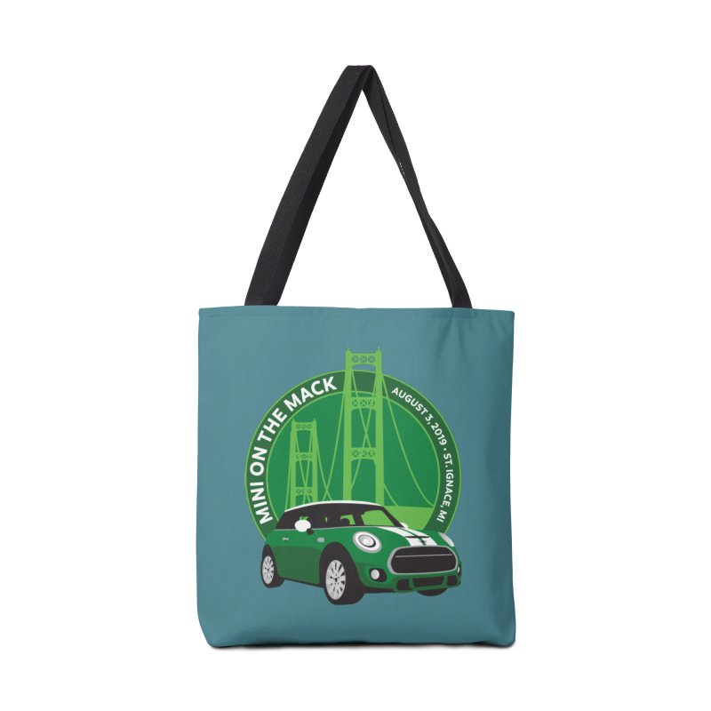 MINI on the Mack 2019 Accessories Tote Bag Bag by TwistyMini Motoring Shirts