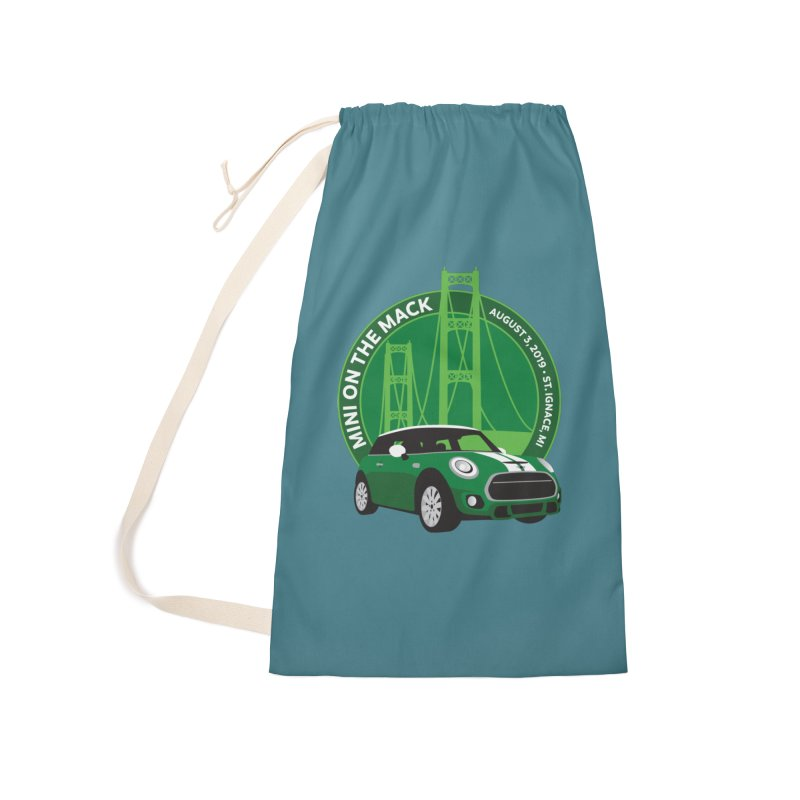 MINI on the Mack 2019 Accessories Laundry Bag Bag by TwistyMini Motoring Shirts