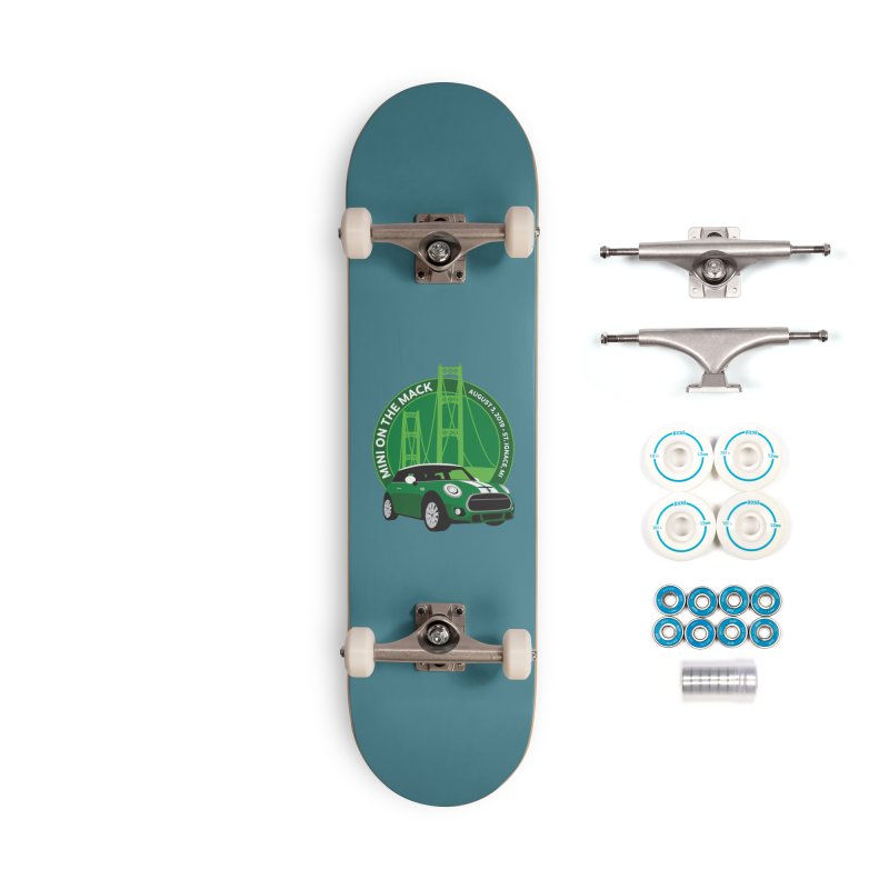 MINI on the Mack 2019 Accessories Complete - Basic Skateboard by TwistyMini Motoring Shirts