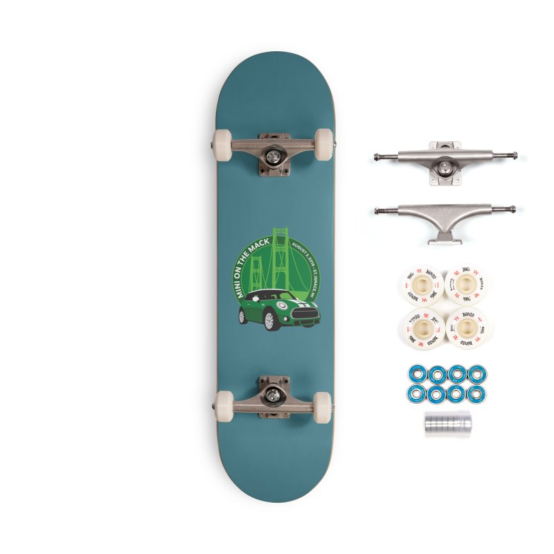 MINI on the Mack 2019 Accessories Complete - Premium Skateboard by TwistyMini Motoring Shirts