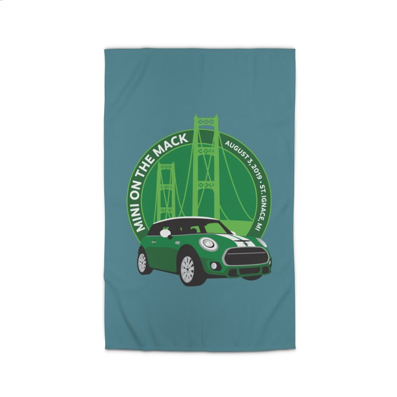 MINI on the Mack 2019 Home Rug by TwistyMini Motoring Shirts