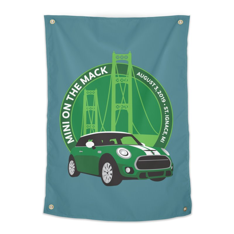 MINI on the Mack 2019 Home Tapestry by TwistyMini Motoring Shirts