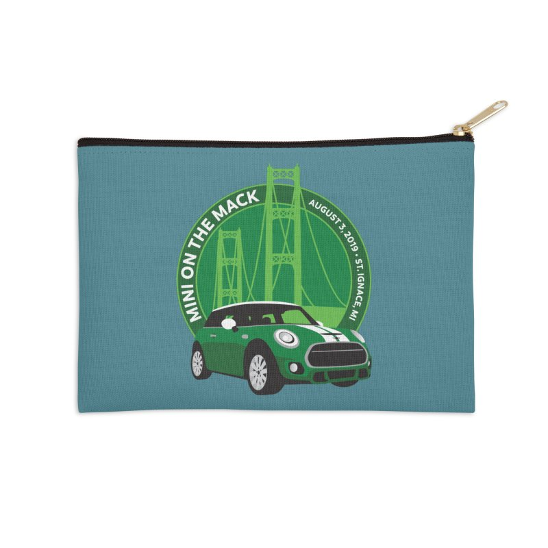 MINI on the Mack 2019 Accessories Zip Pouch by TwistyMini Motoring Shirts