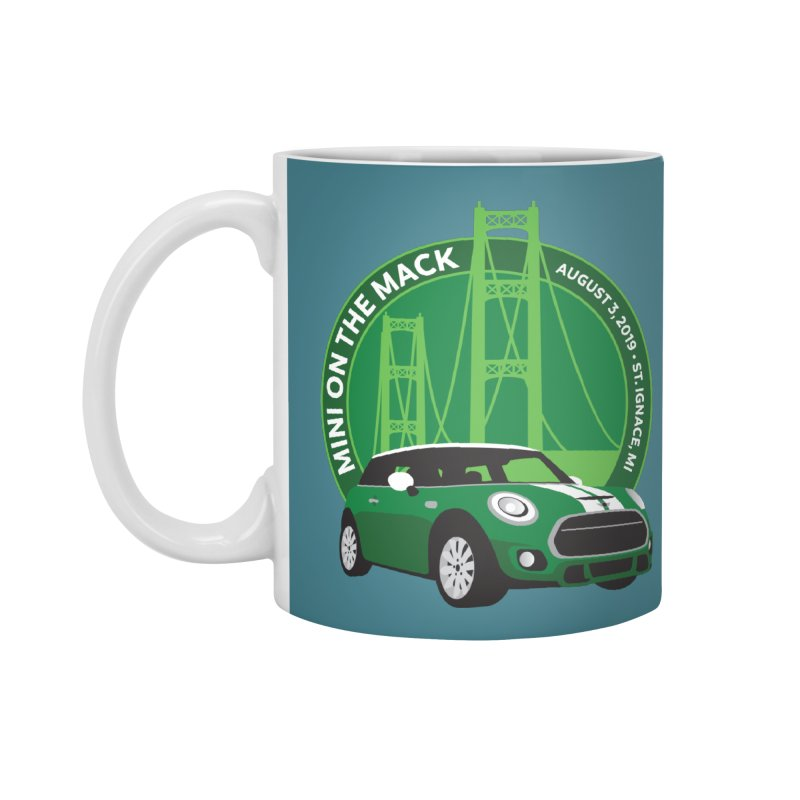 MINI on the Mack 2019 Accessories Standard Mug by TwistyMini Motoring Shirts