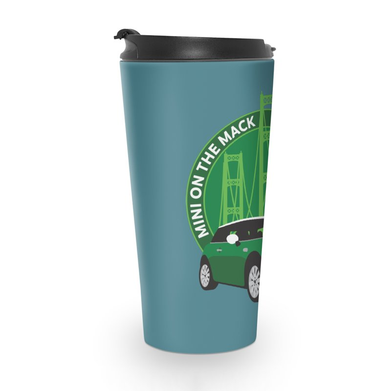 MINI on the Mack 2019 Accessories Travel Mug by TwistyMini Motoring Shirts