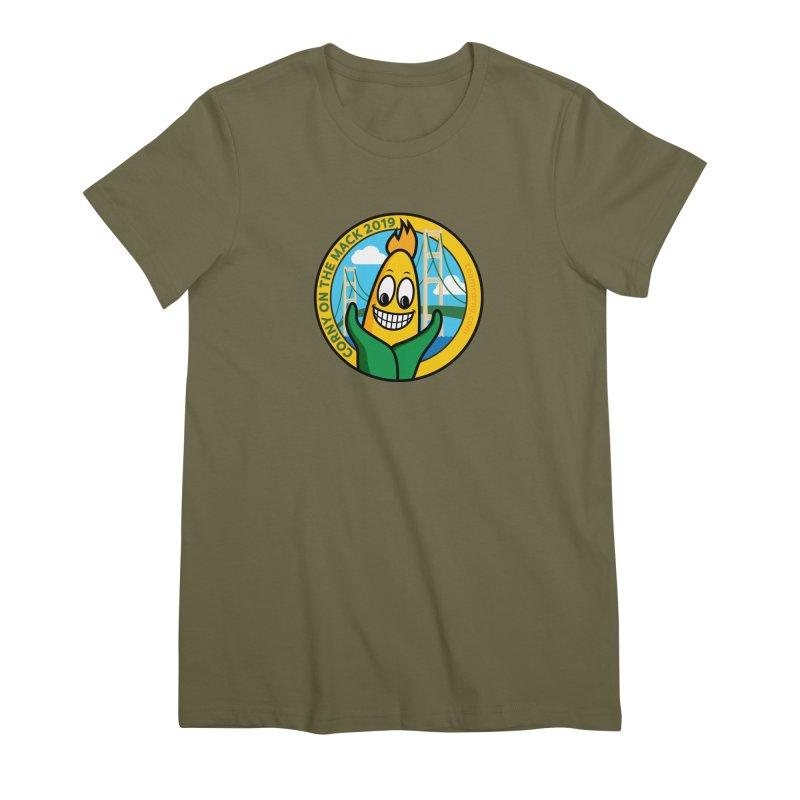 Corny on the Mack 2019 Women's Premium T-Shirt by TwistyMini Motoring Shirts