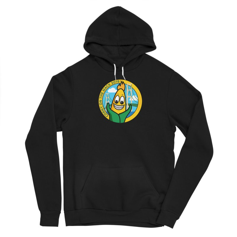 Corny on the Mack 2019 Men's Sponge Fleece Pullover Hoody by TwistyMini Motoring Shirts