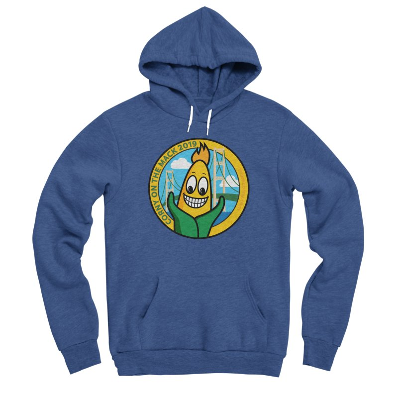 Corny on the Mack 2019 Women's Sponge Fleece Pullover Hoody by TwistyMini Motoring Shirts