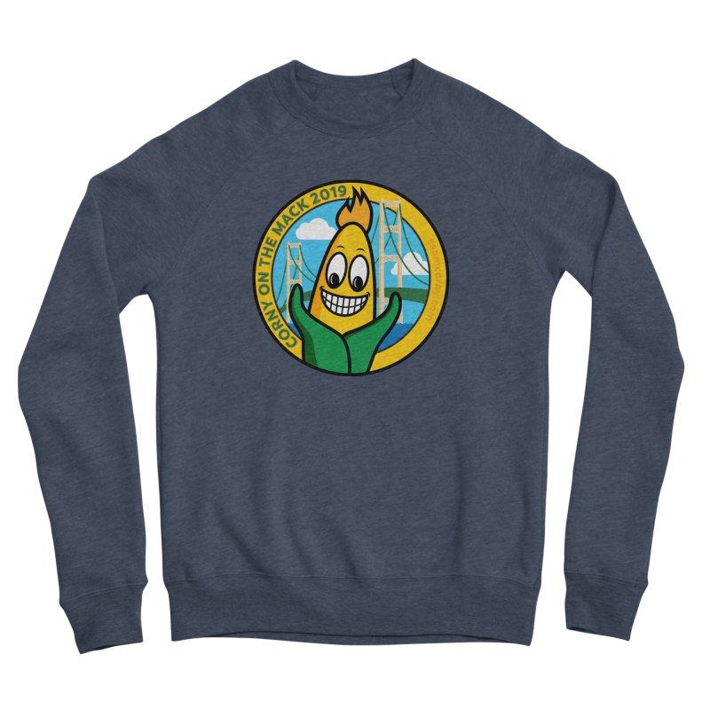 Corny on the Mack 2019 Women's Sponge Fleece Sweatshirt by TwistyMini Motoring Shirts