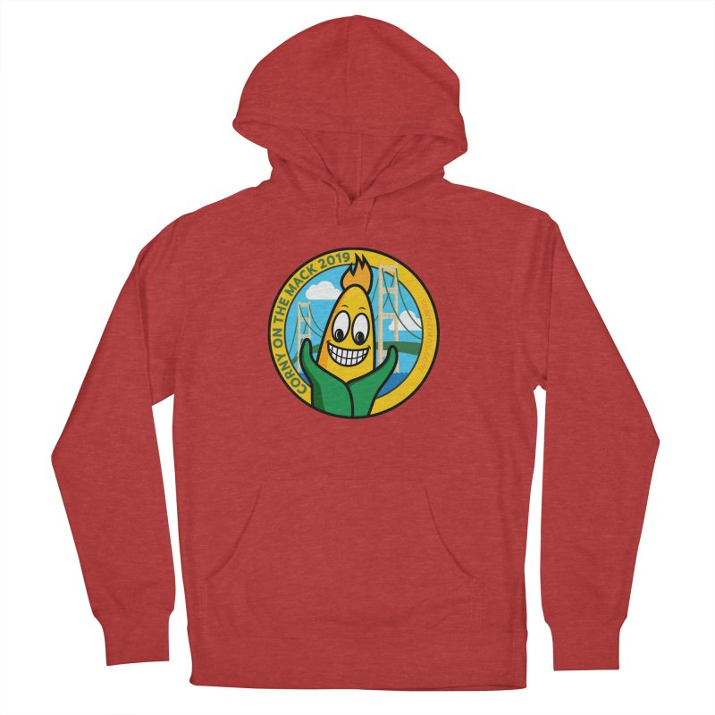 Corny on the Mack 2019 Women's French Terry Pullover Hoody by TwistyMini Motoring Shirts
