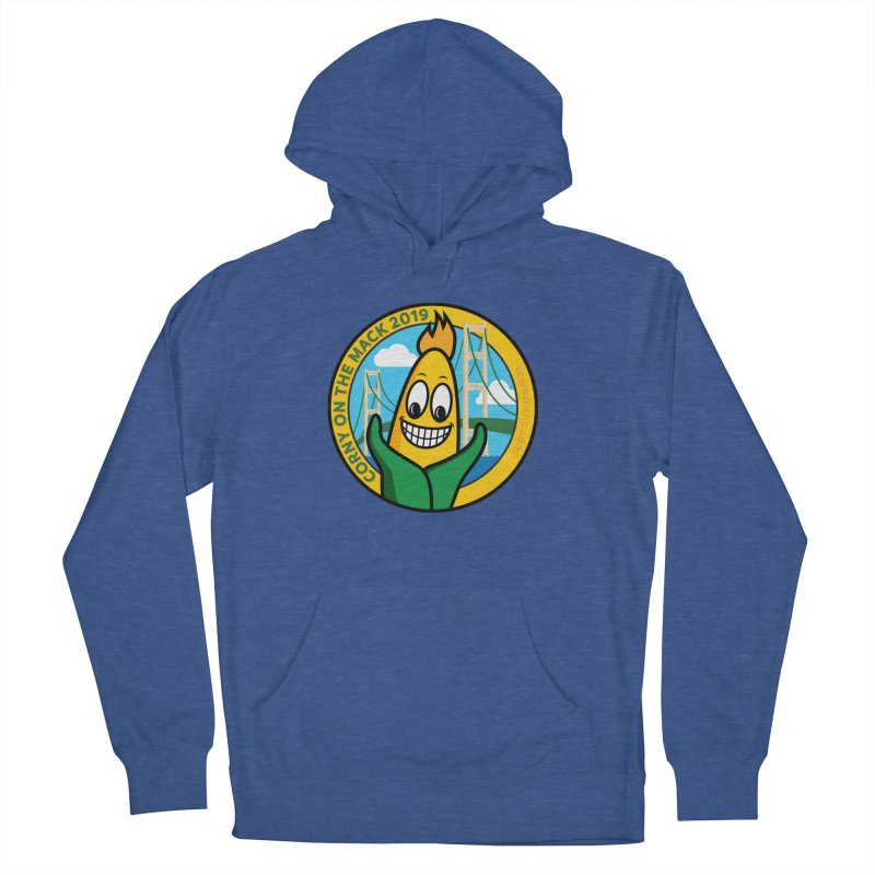 Corny on the Mack 2019 Men's French Terry Pullover Hoody by TwistyMini Motoring Shirts