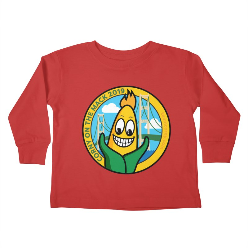Corny on the Mack 2019 Kids Toddler Longsleeve T-Shirt by TwistyMini Motoring Shirts
