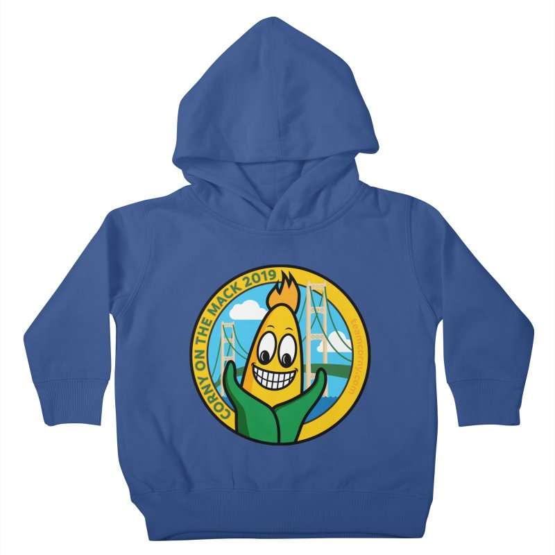 Corny on the Mack 2019 Kids Toddler Pullover Hoody by TwistyMini Motoring Shirts