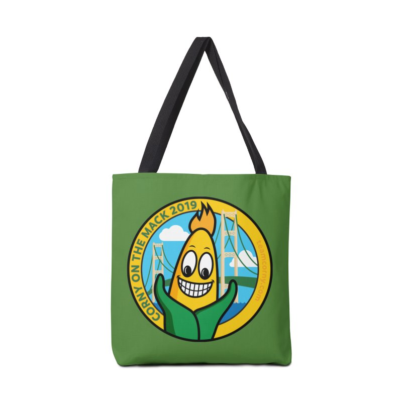 Corny on the Mack 2019 Accessories Tote Bag Bag by TwistyMini Motoring Shirts