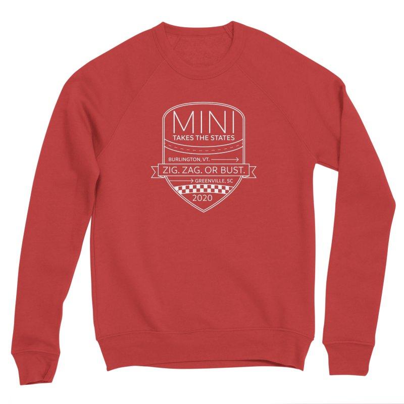 MTTS 2020 - White Men's Sponge Fleece Sweatshirt by TwistyMini Motoring Shirts