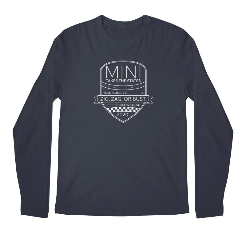 MTTS 2020 - White Men's Regular Longsleeve T-Shirt by TwistyMini Motoring Shirts