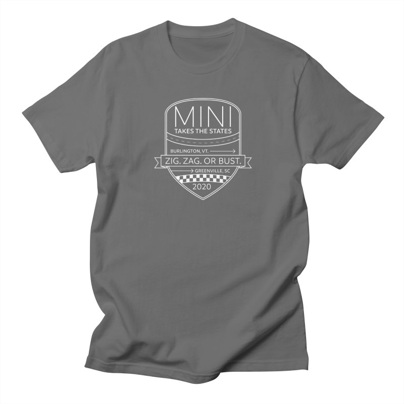 MTTS 2020 - White Men's T-Shirt by TwistyMini Motoring Shirts