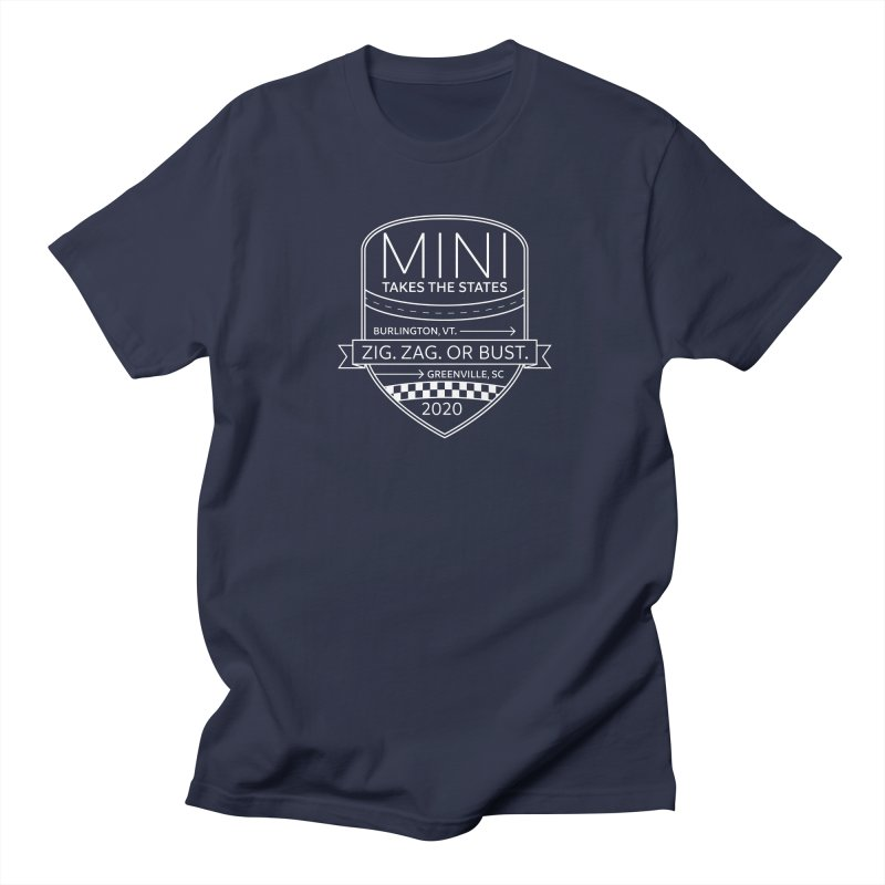MTTS 2020 - White Men's Regular T-Shirt by TwistyMini Motoring Shirts