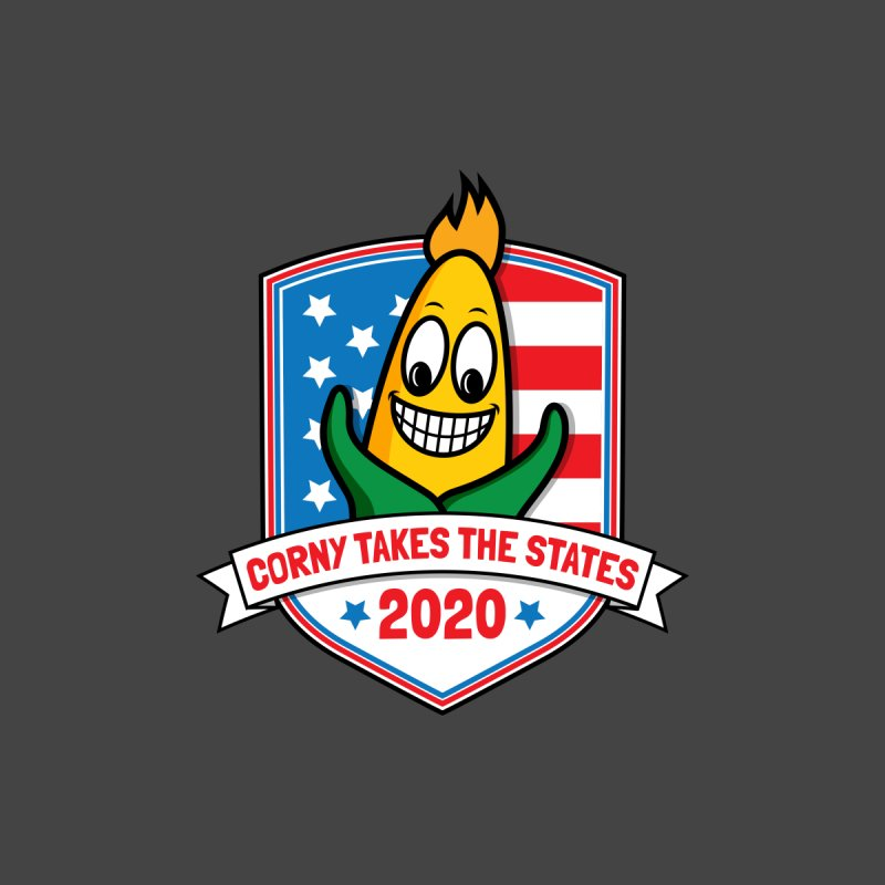 Corny Takes the States 2020 - Badge by TwistyMini Motoring Shirts