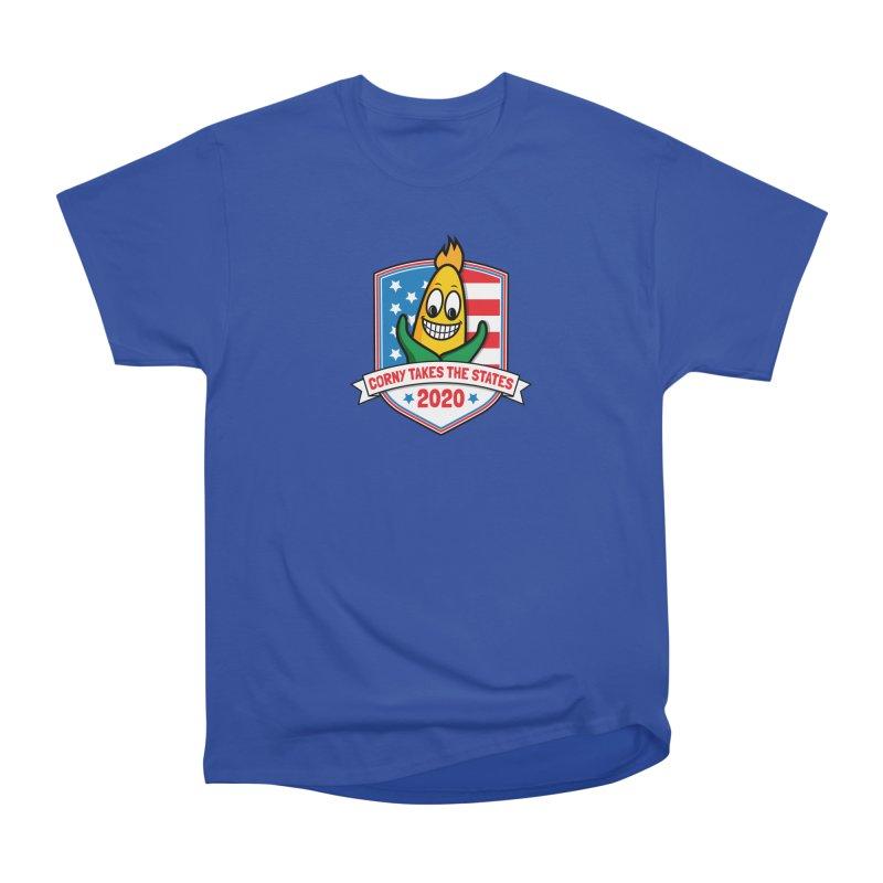 Corny Takes the States 2020 - Badge Men's T-Shirt by TwistyMini Motoring Shirts