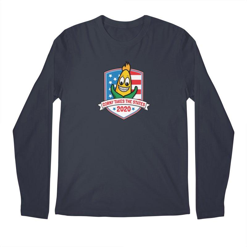 Corny Takes the States 2020 - Badge Men's Regular Longsleeve T-Shirt by TwistyMini Motoring Shirts