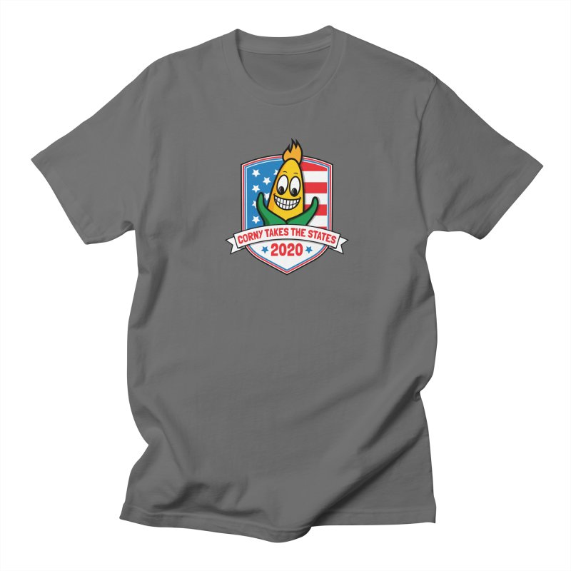 Corny Takes the States 2020 - Badge Men's T-Shirt by TwistyMini Motoring Shirts