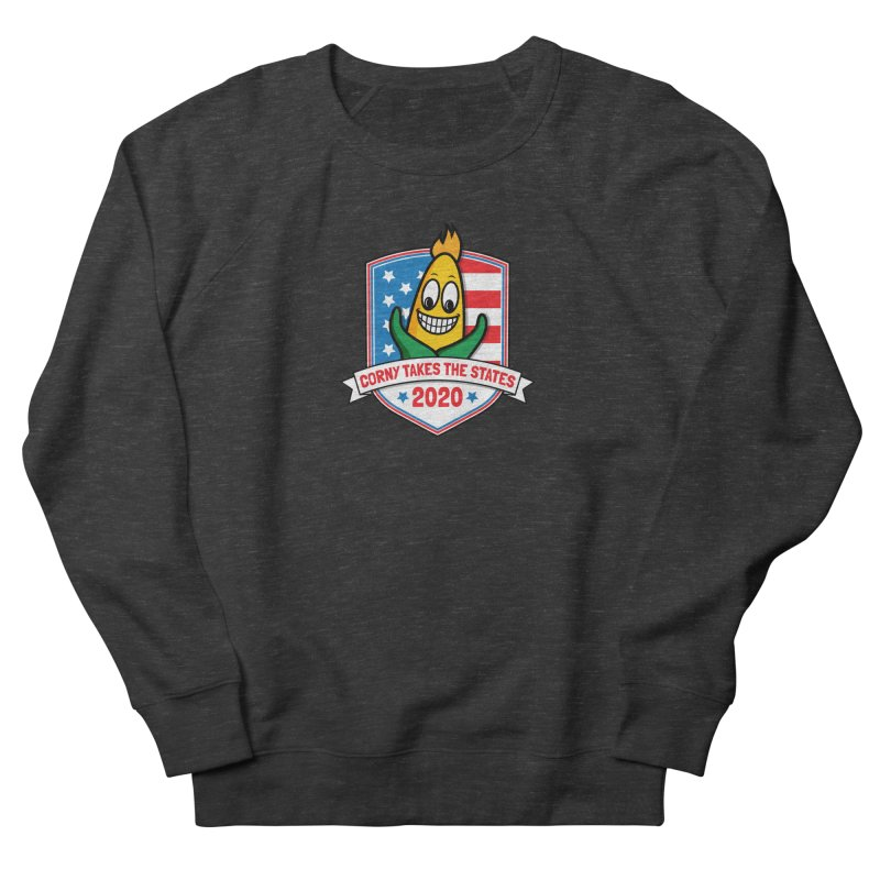 Corny Takes the States 2020 - Badge Women's French Terry Sweatshirt by TwistyMini Motoring Shirts