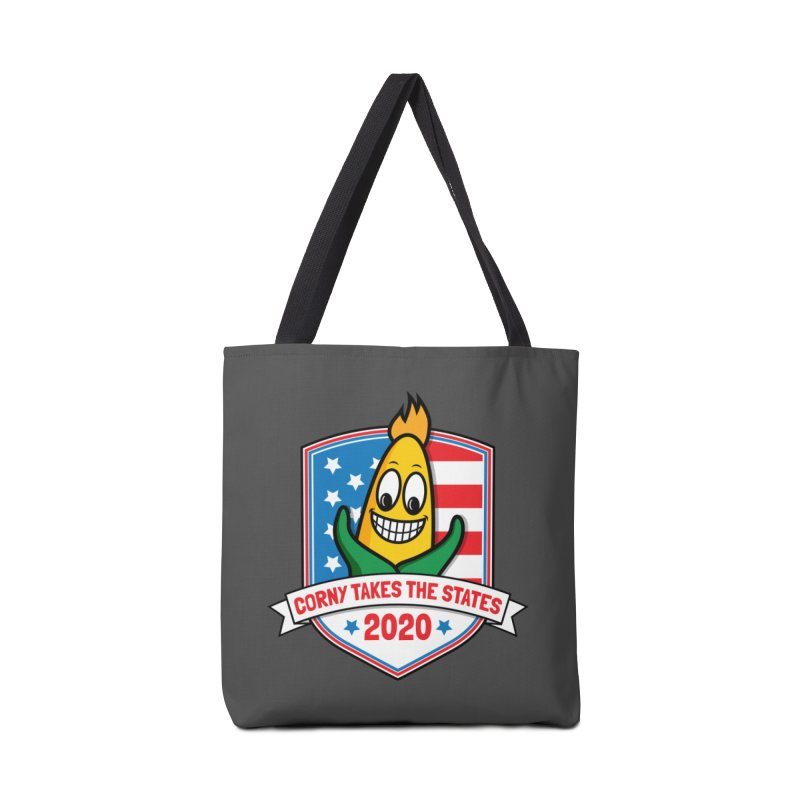 Corny Takes the States 2020 - Badge Accessories Tote Bag Bag by TwistyMini Motoring Shirts