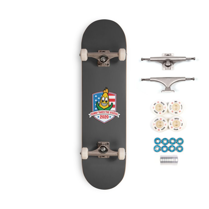 Corny Takes the States 2020 - Badge Accessories Complete - Premium Skateboard by TwistyMini Motoring Shirts