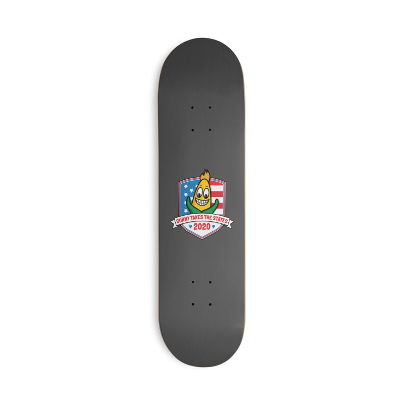 Corny Takes the States 2020 - Badge Accessories Deck Only Skateboard by TwistyMini Motoring Shirts