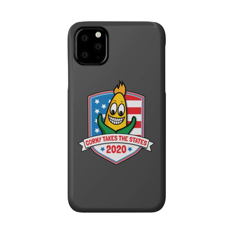 Corny Takes the States 2020 - Badge Accessories Phone Case by TwistyMini Motoring Shirts