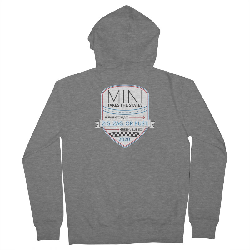 MTTS 2020 - Color Men's French Terry Zip-Up Hoody by TwistyMini Motoring Shirts